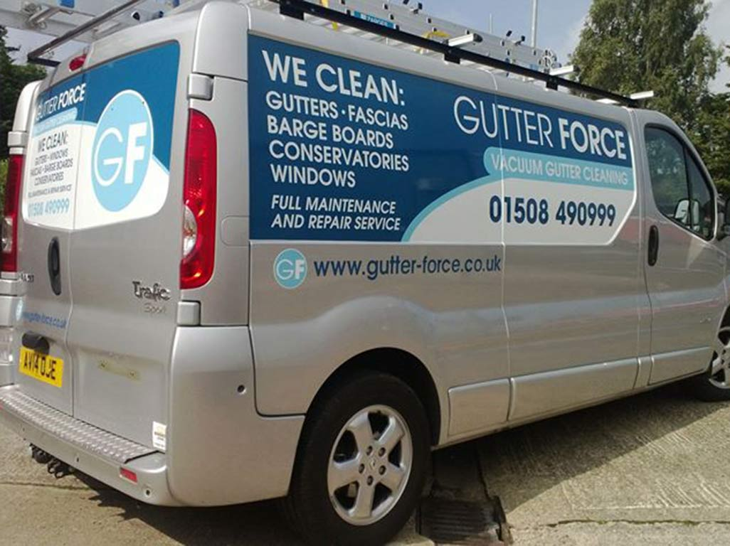 Panel wrap for Gutterforce