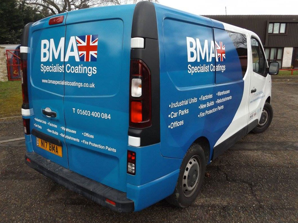 Monarch signs vehicle wrapping